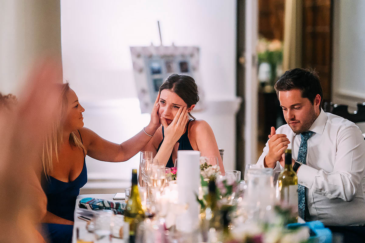 wedding guest reactions