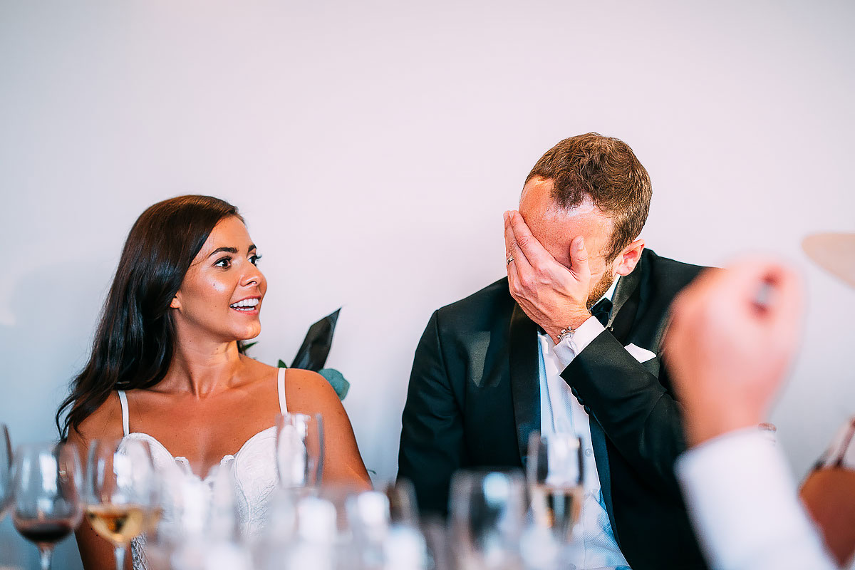 groom face palm