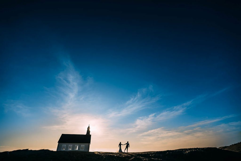 Winter Iceland Pre Wedding Shoot