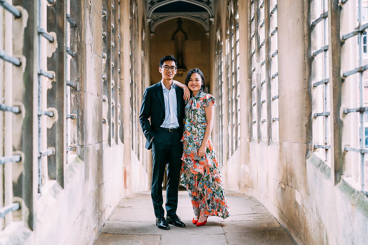 Cambridge pre wedding shoot