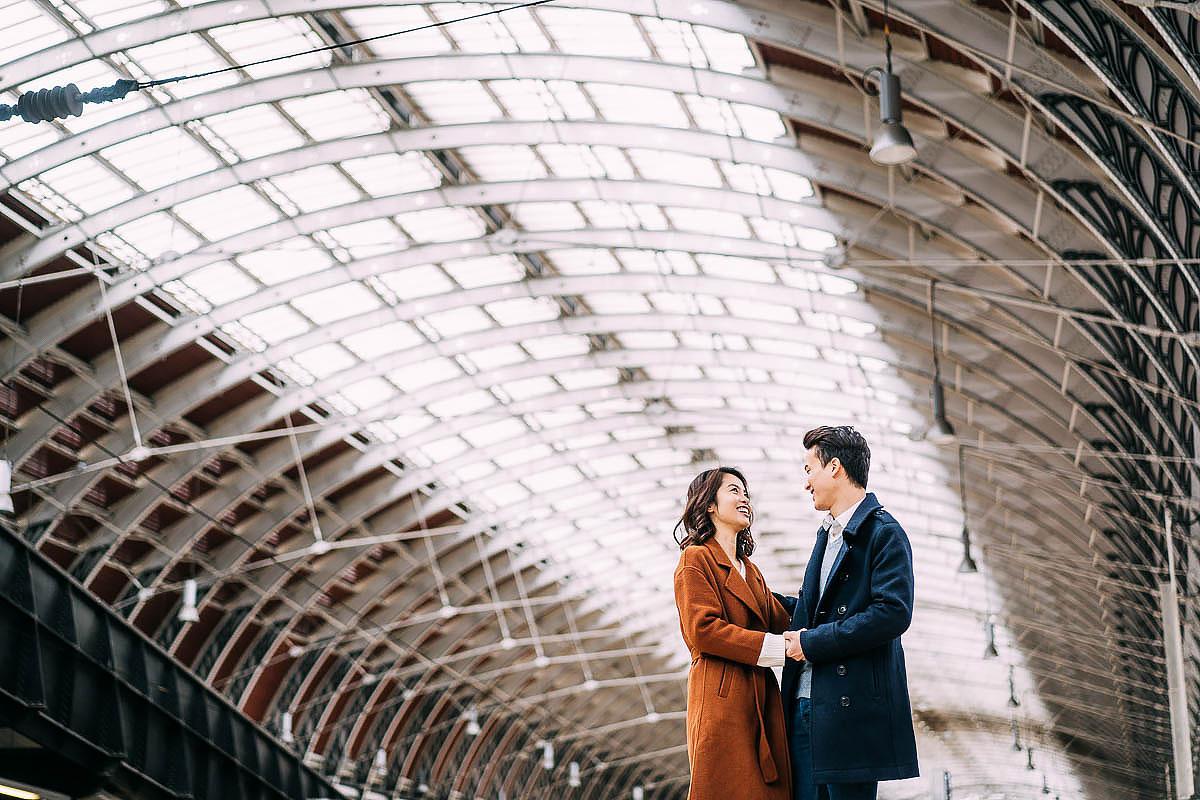 paddington pre wedding shoot london
