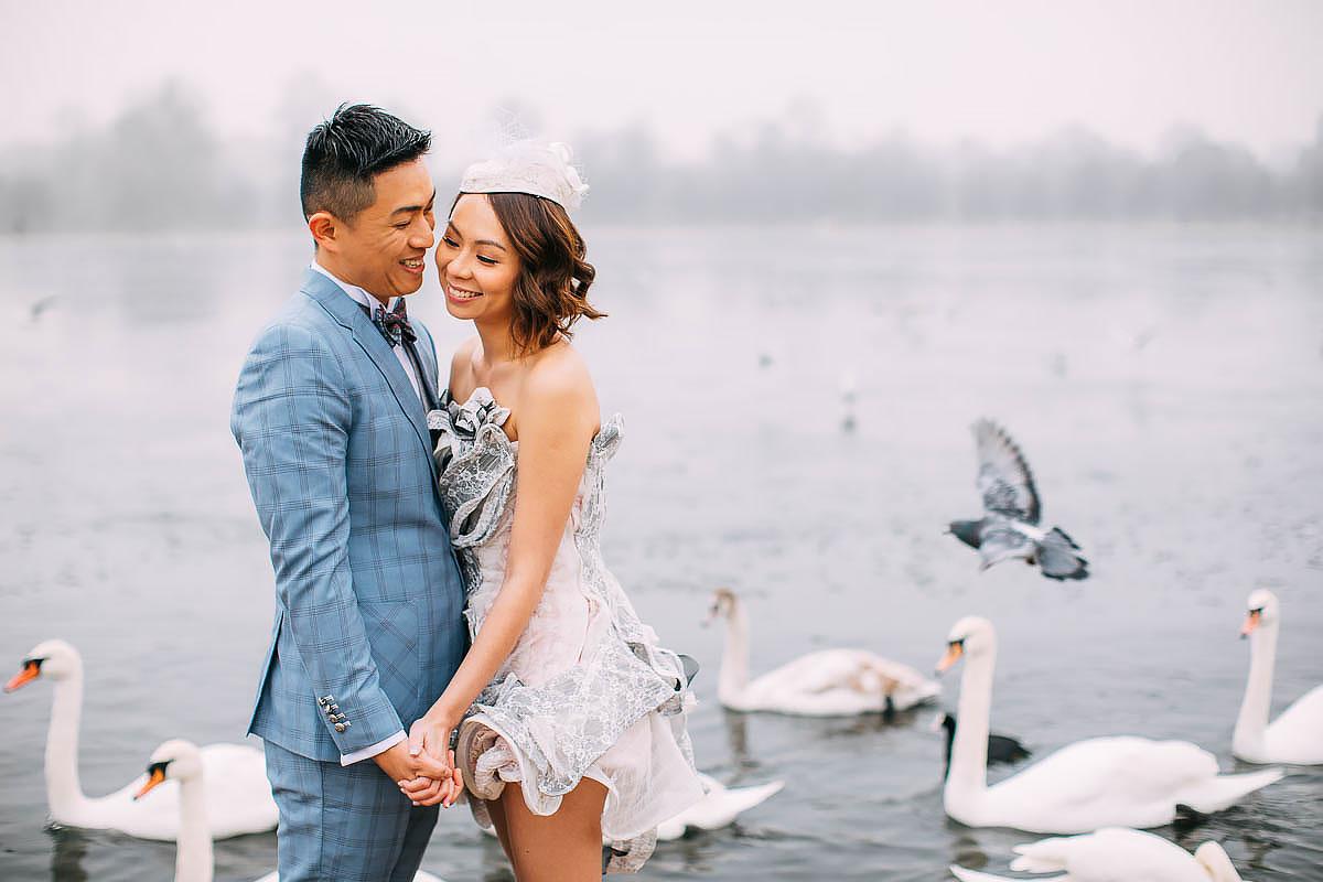 hyde park pre wedding shoot