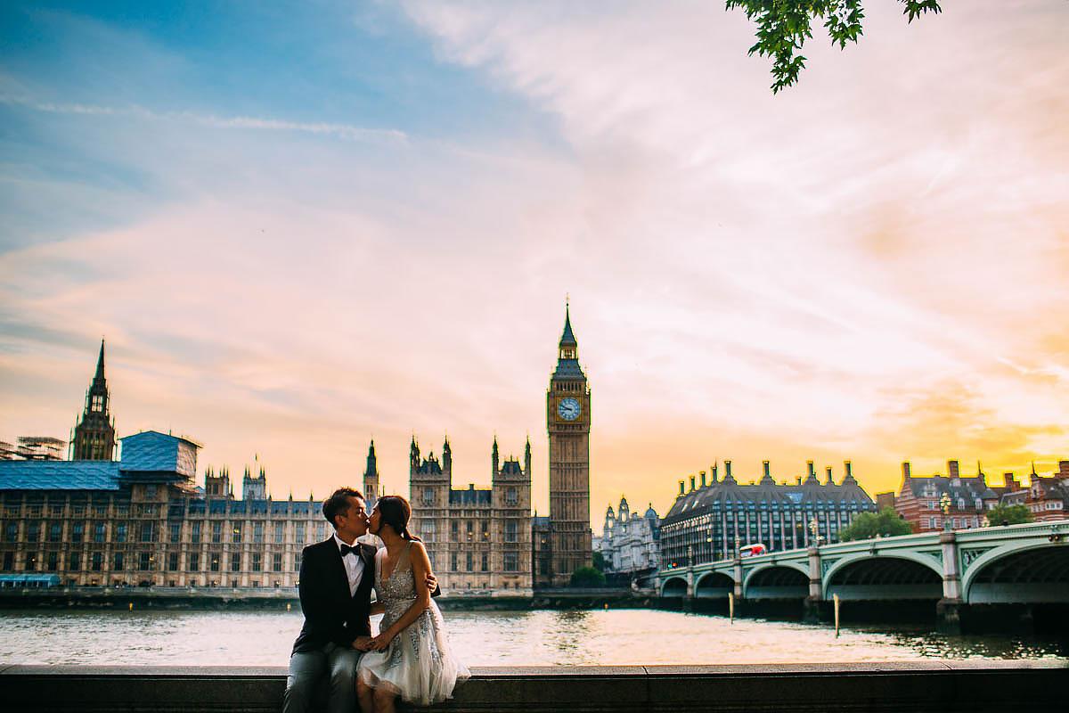 Big Ben pre wedding shoot