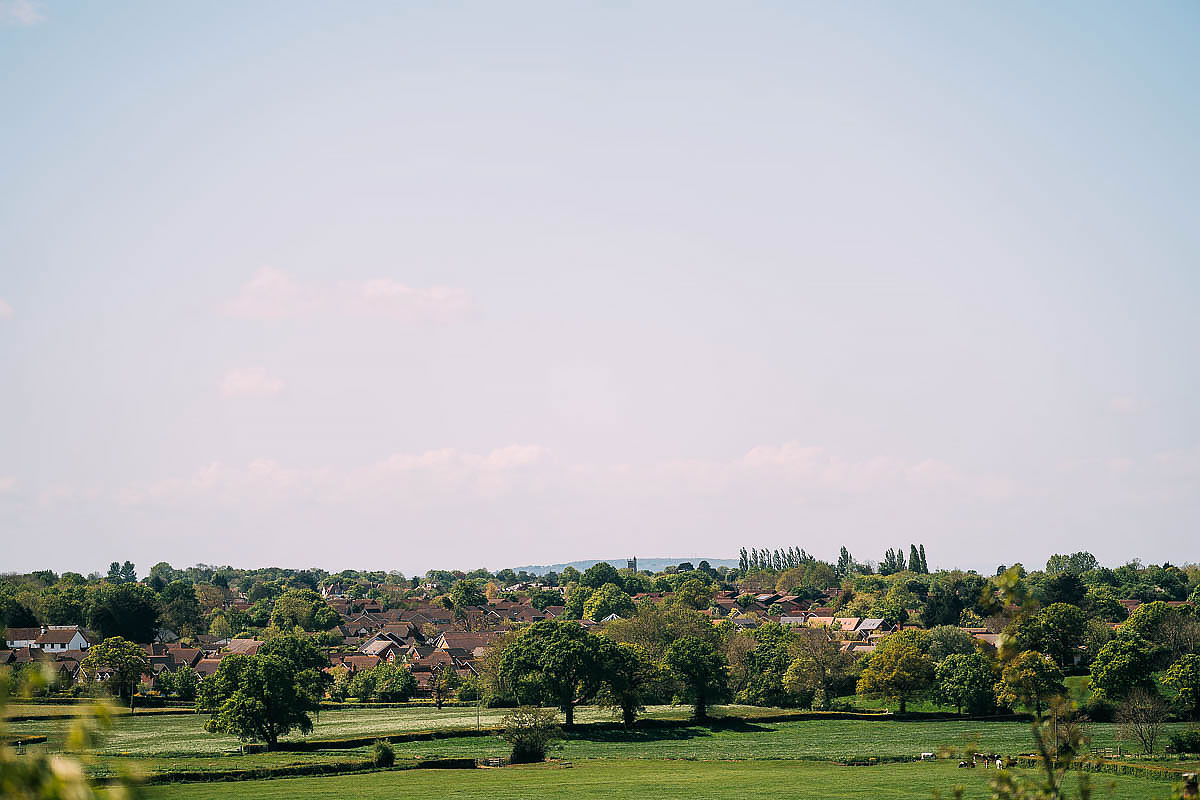 landscape view of Wraxall
