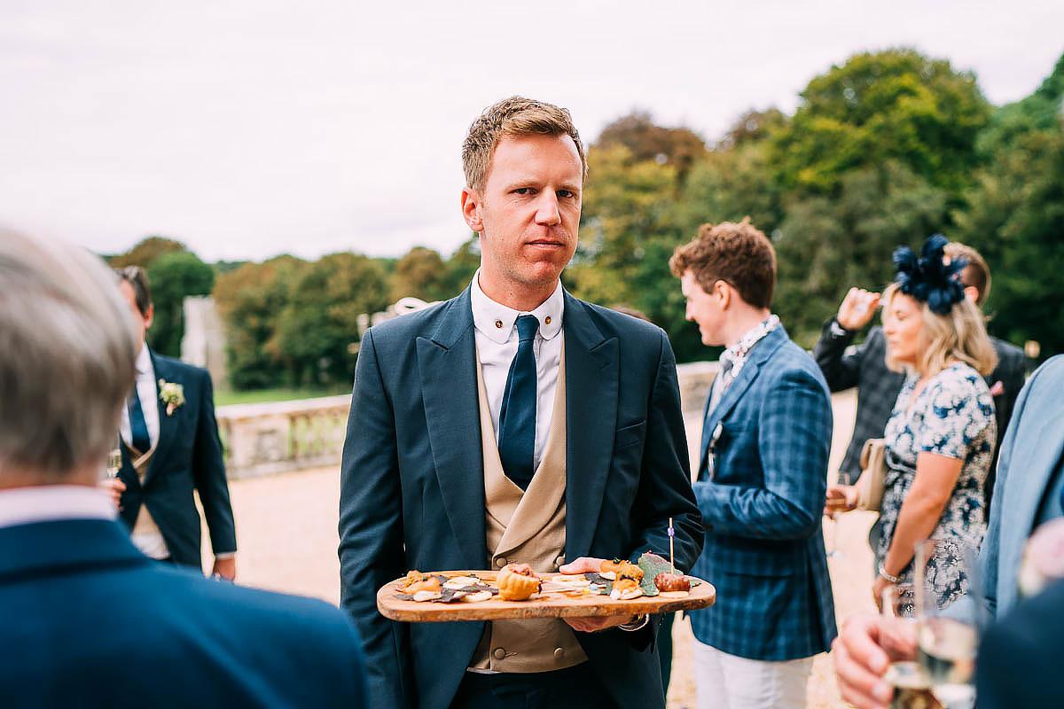 natural wedding photos came house