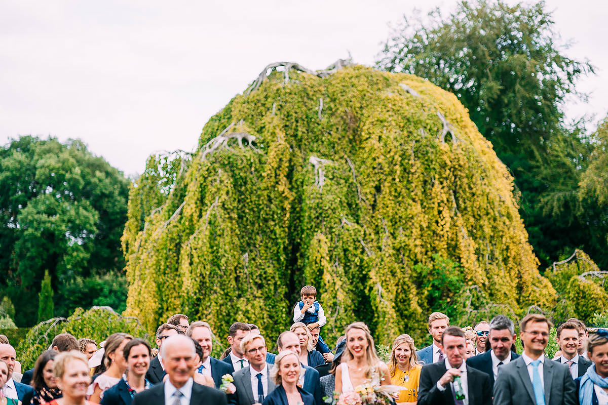 wedding speeches at Came House in Dorset