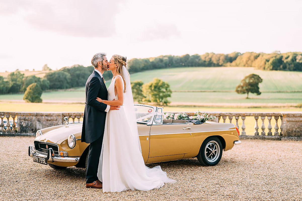 MGB wedding car
