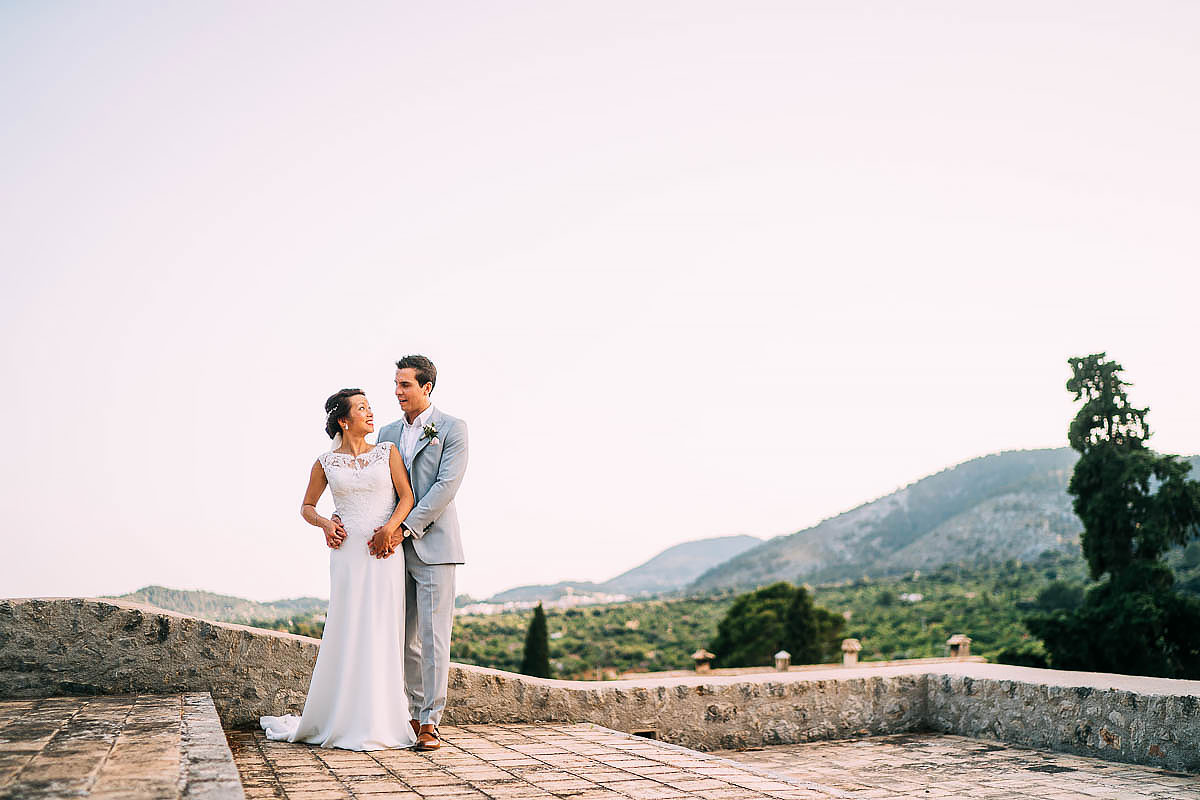 couple photos at Finca Son Berga