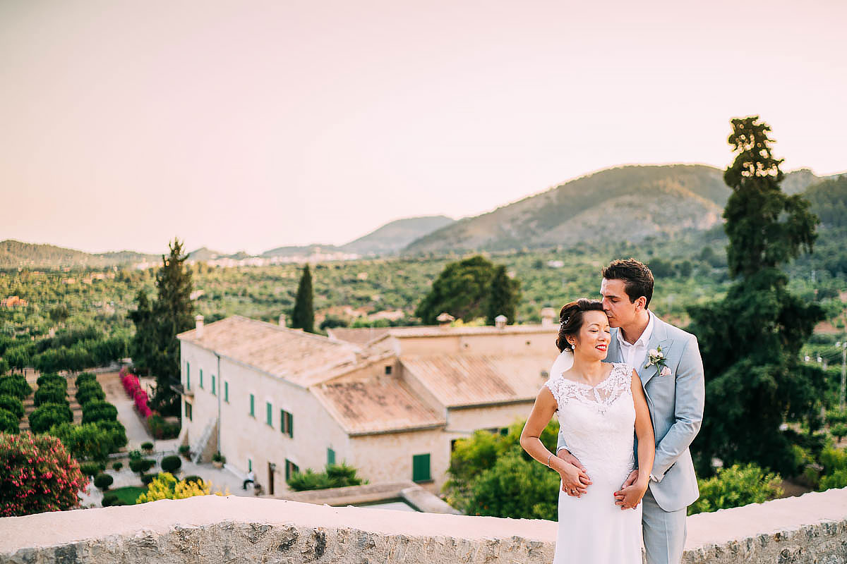 wedding photos at Finca Son Berga