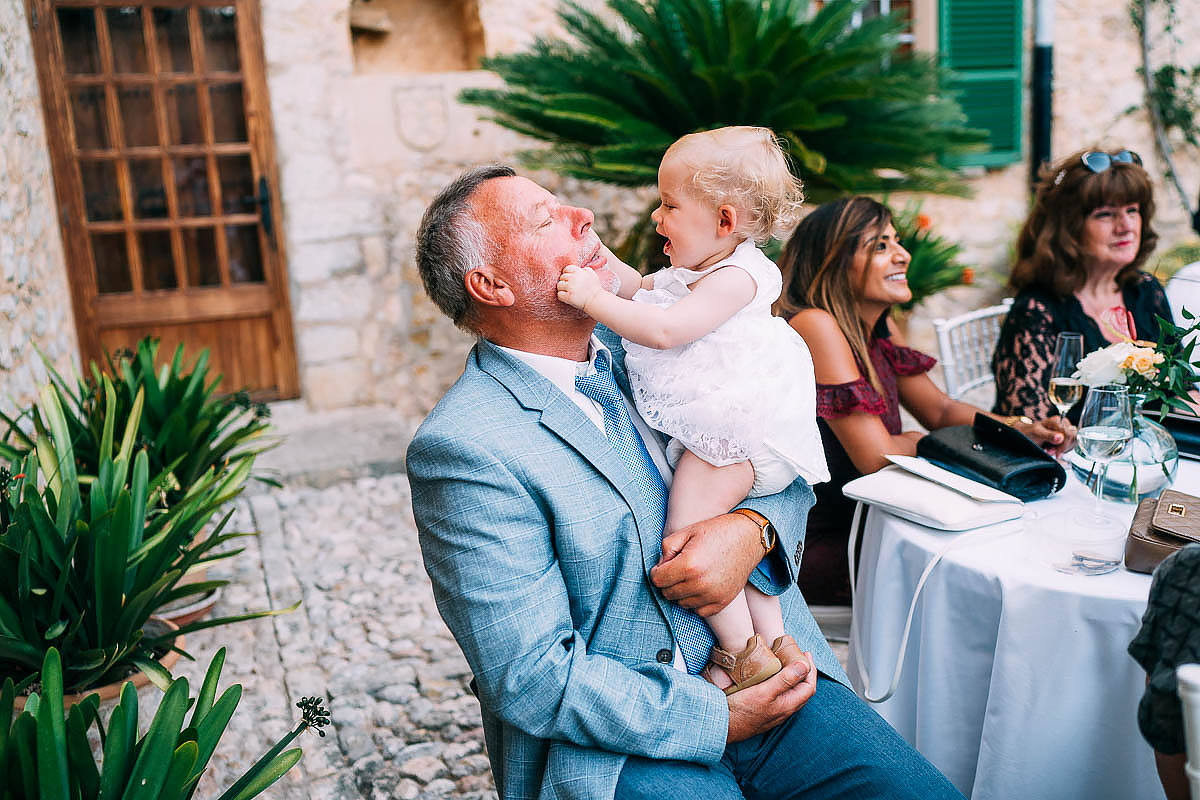wedding reception at Finca Son Berga Mallorca
