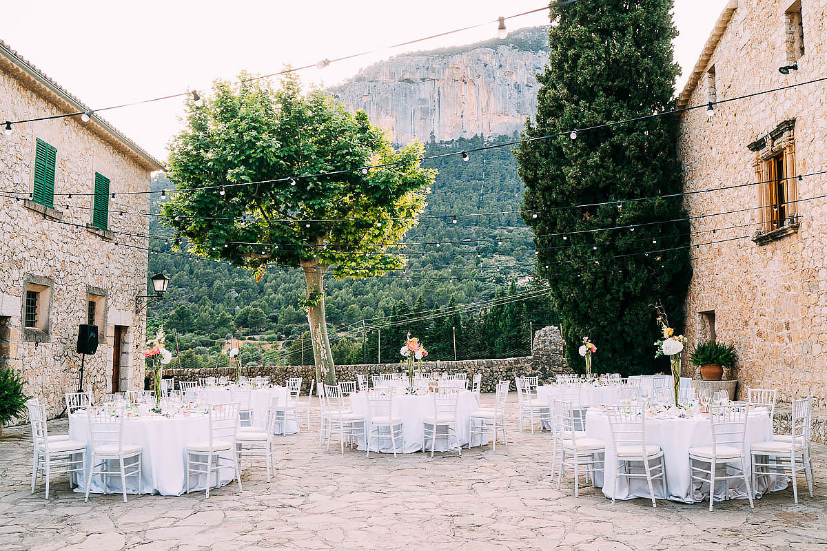 wedding styling at Finca Son Berga Mallorca