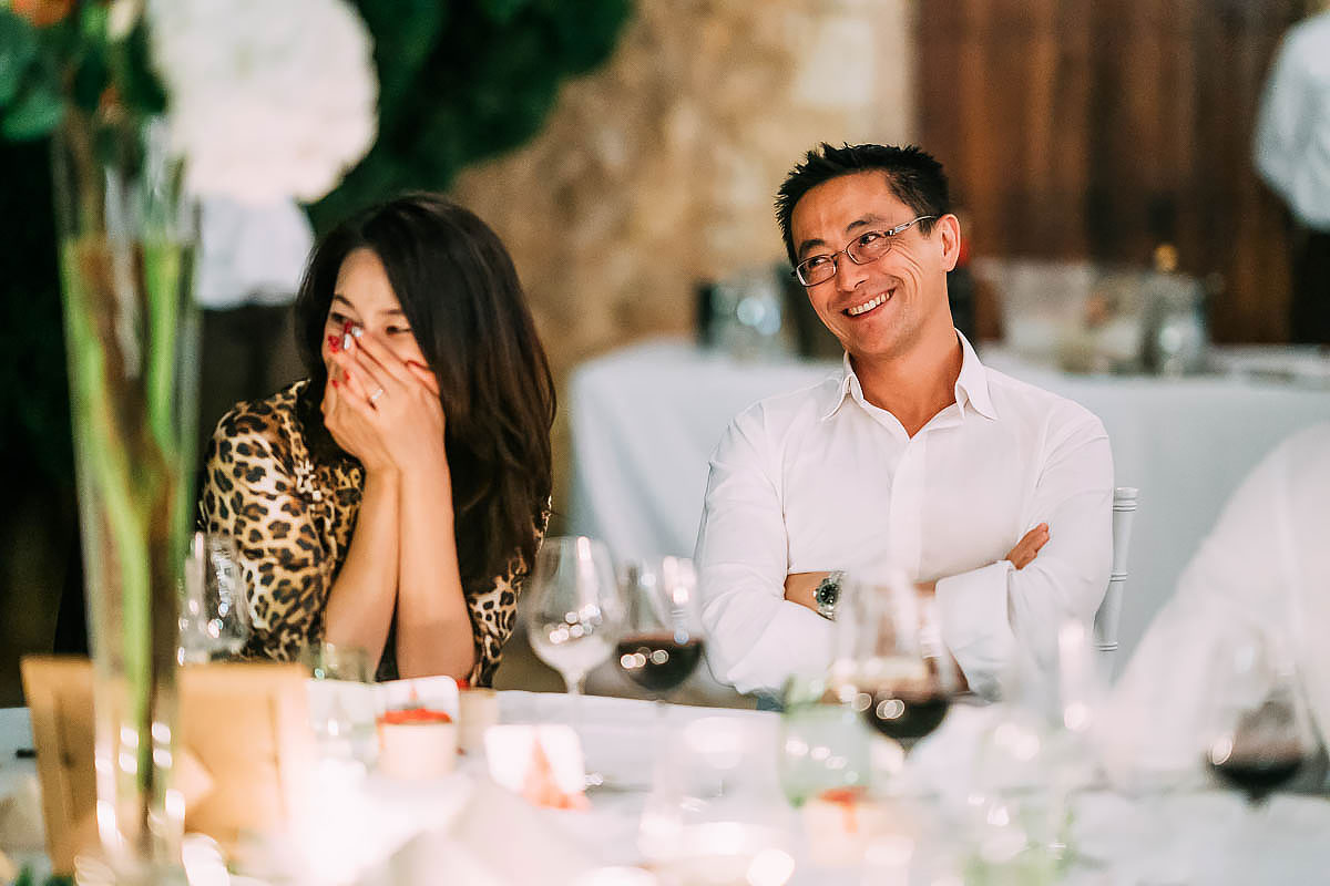 wedding speeches at Finca Son Berga