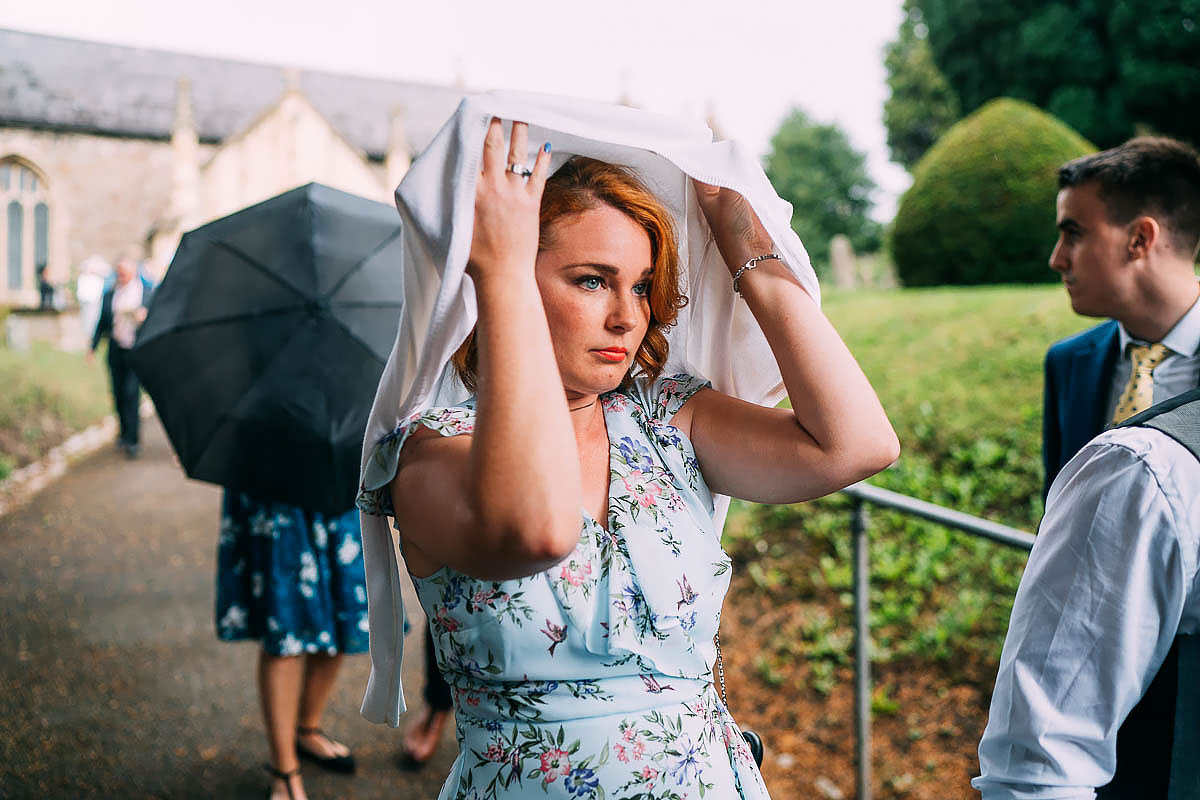 rain at bristol wedding