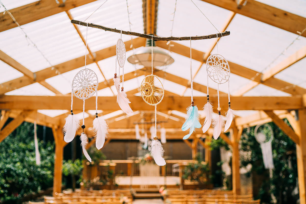 Holford Arms wedding decorations
