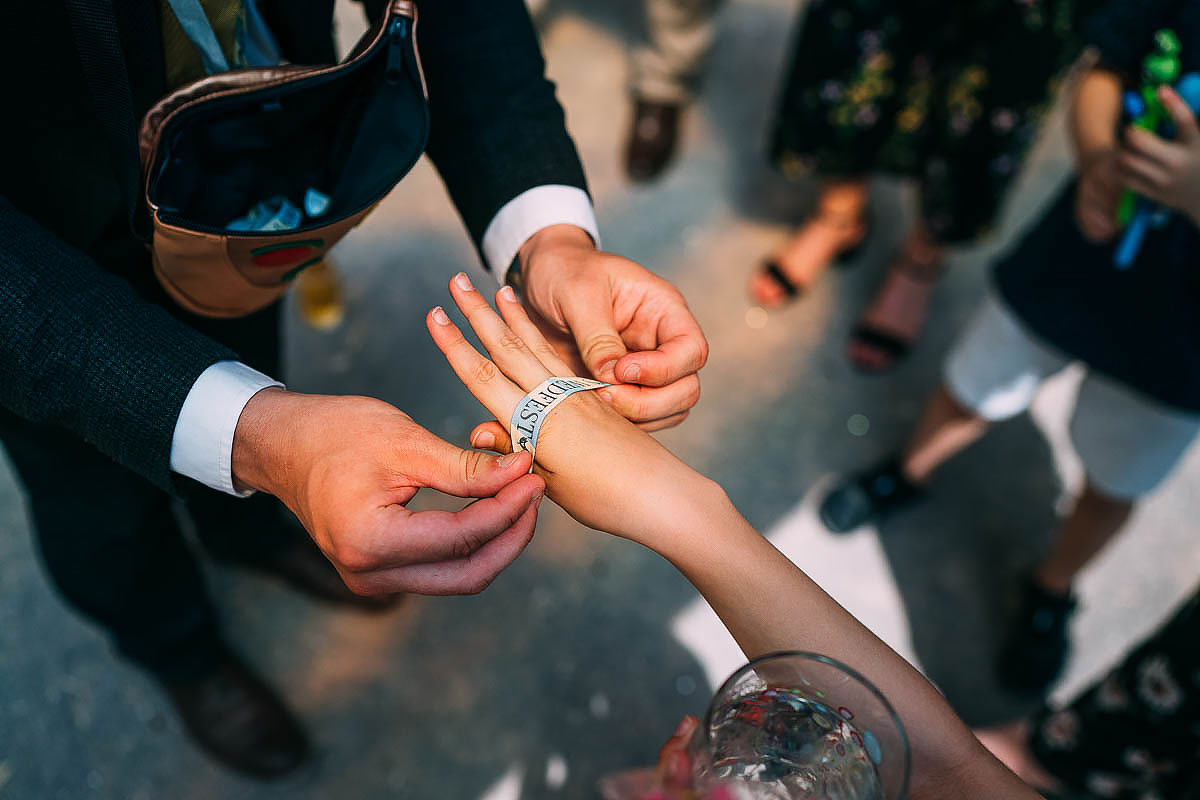 festival wedding band