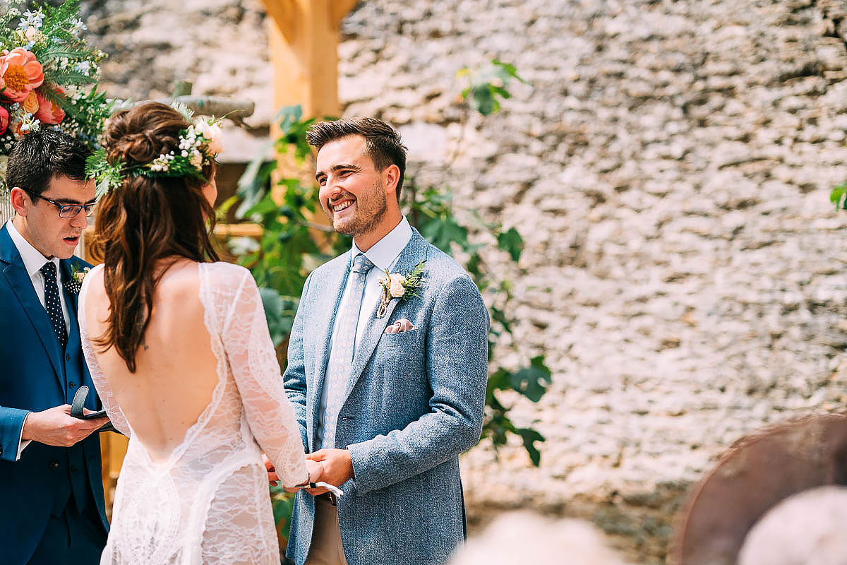 humanist wedding ceremony Holford Arms