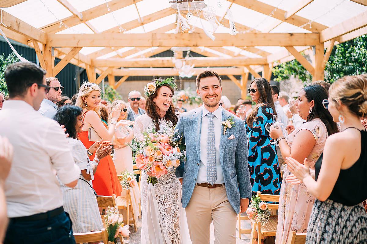 Holford Arms wedding ceremony
