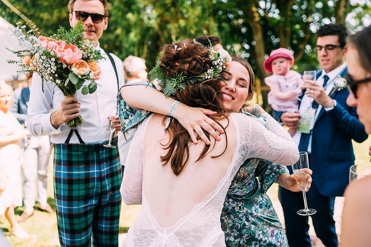 wedding celebrating