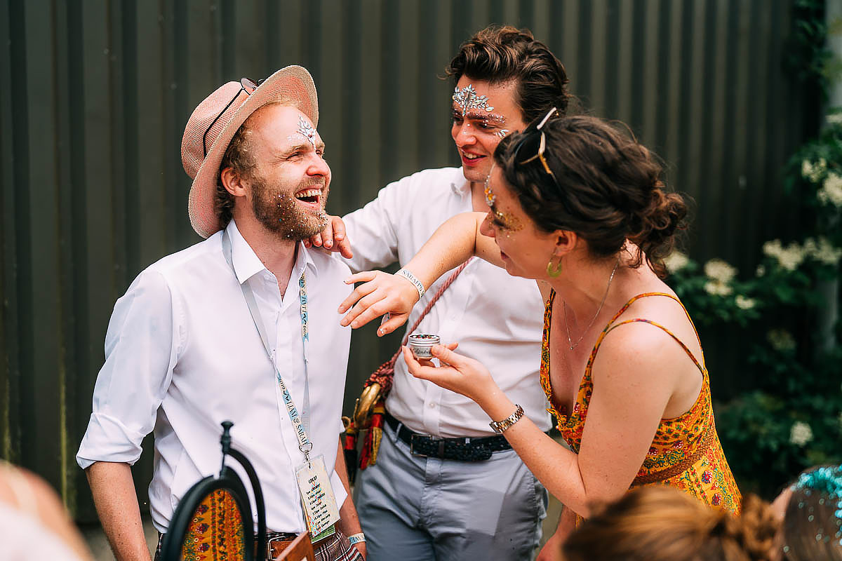 relaxed wedding photography at Holford Arms