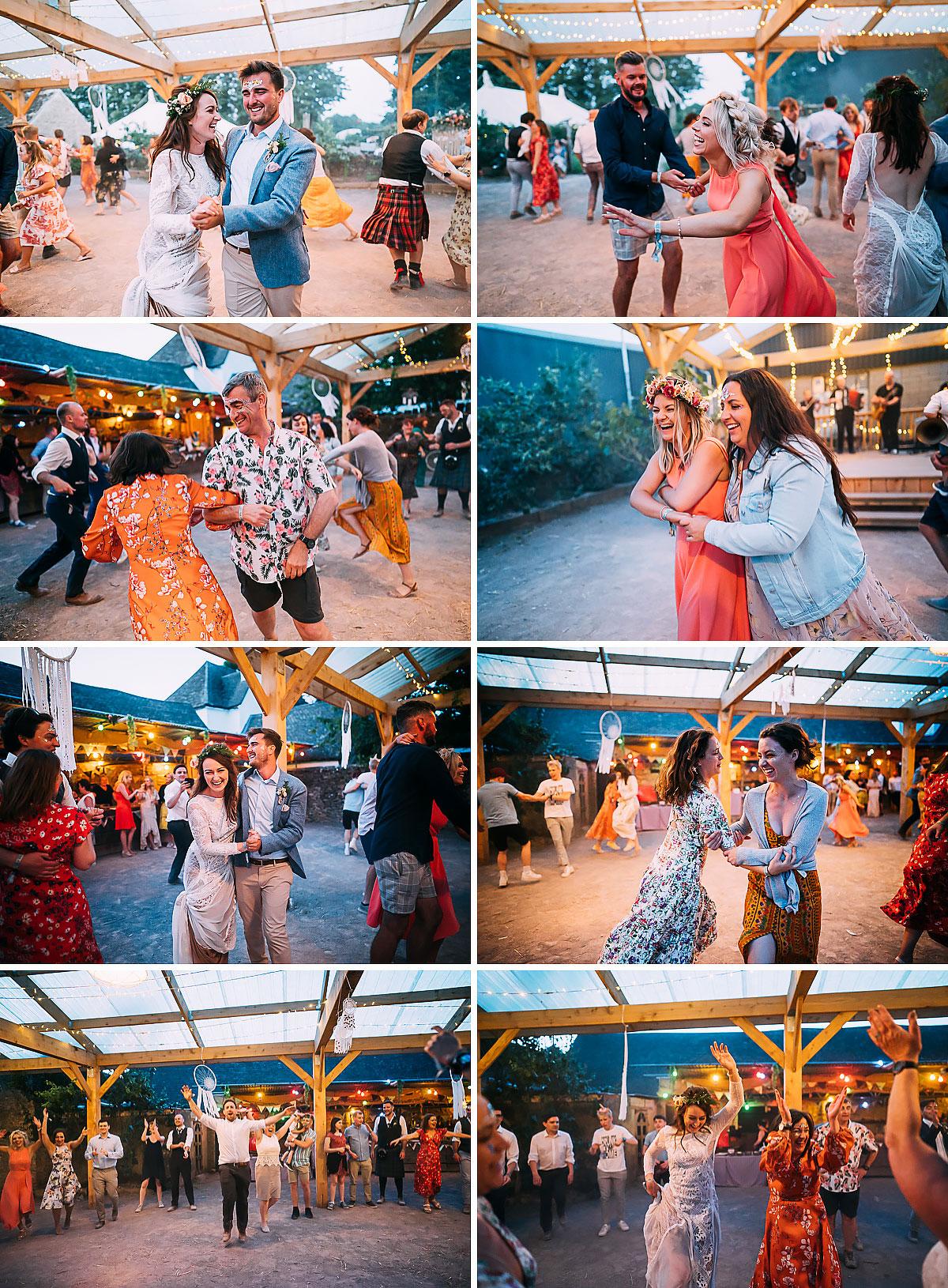 Holford Arms Wedding dancing