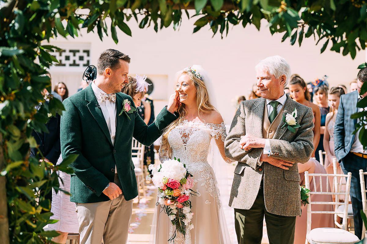 Knowle Manor wedding ceremony