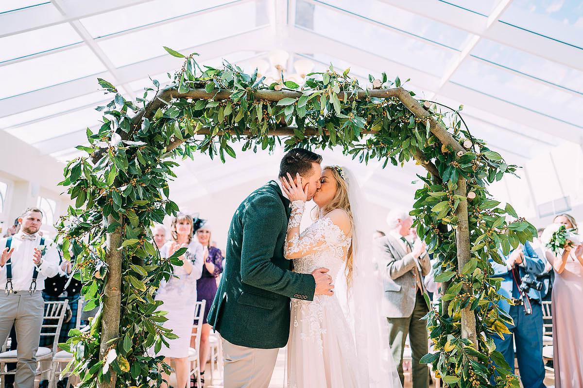 wedding ceremony Knowle Manor