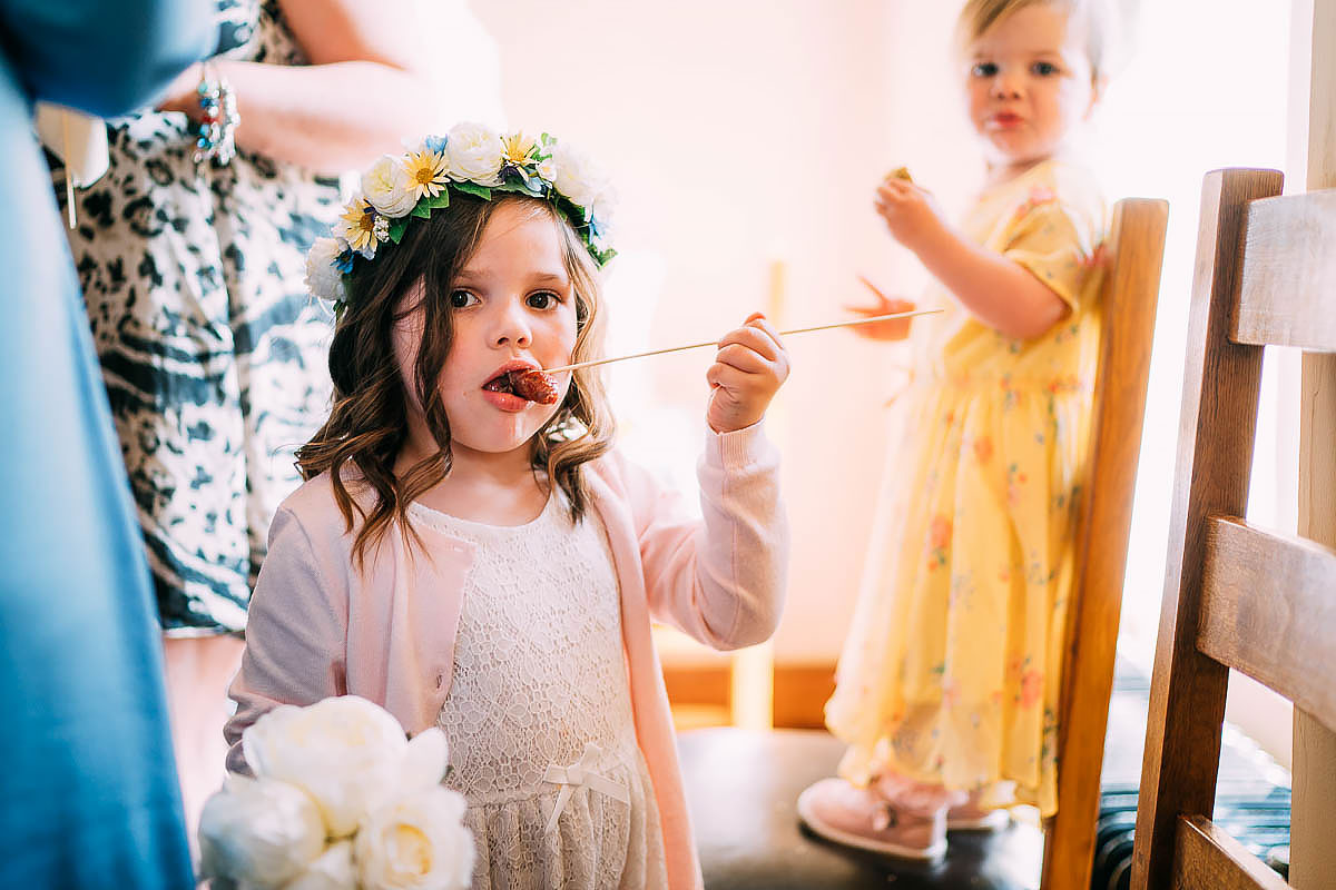wedding reception at Knowle Manor