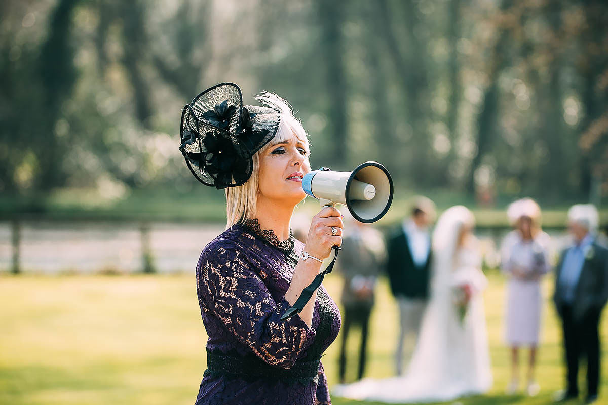 relaxed wedding photos at Knowle Manor