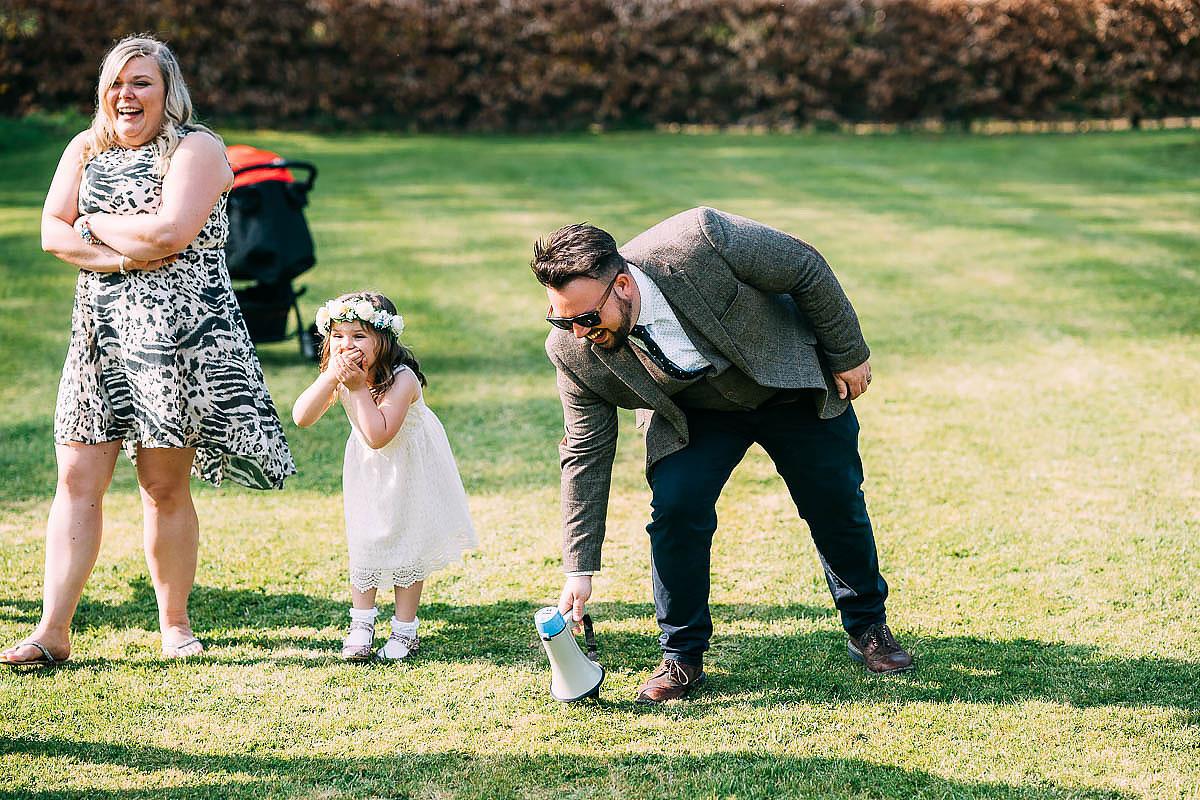 natural wedding photos at Knowle Manor