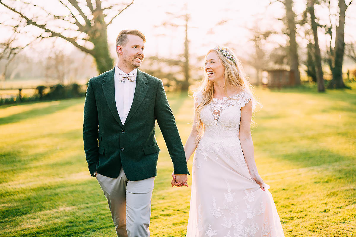 Knowle Manor wedding portraits