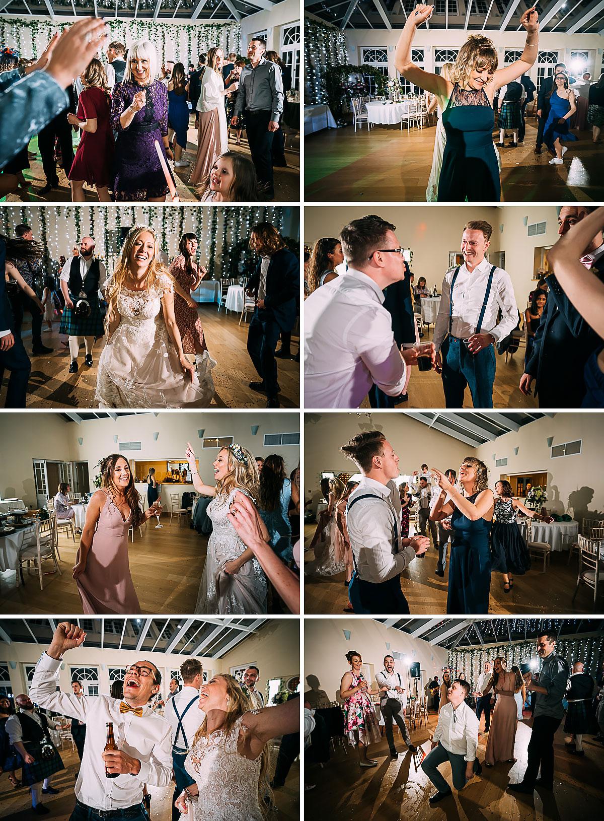 dancing inside Knowle Manor
