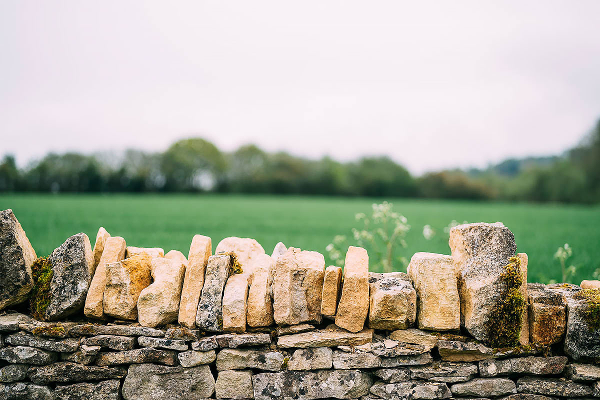 stone wall at The Frogmill