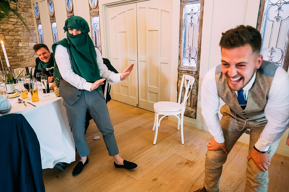 pub games at wedding