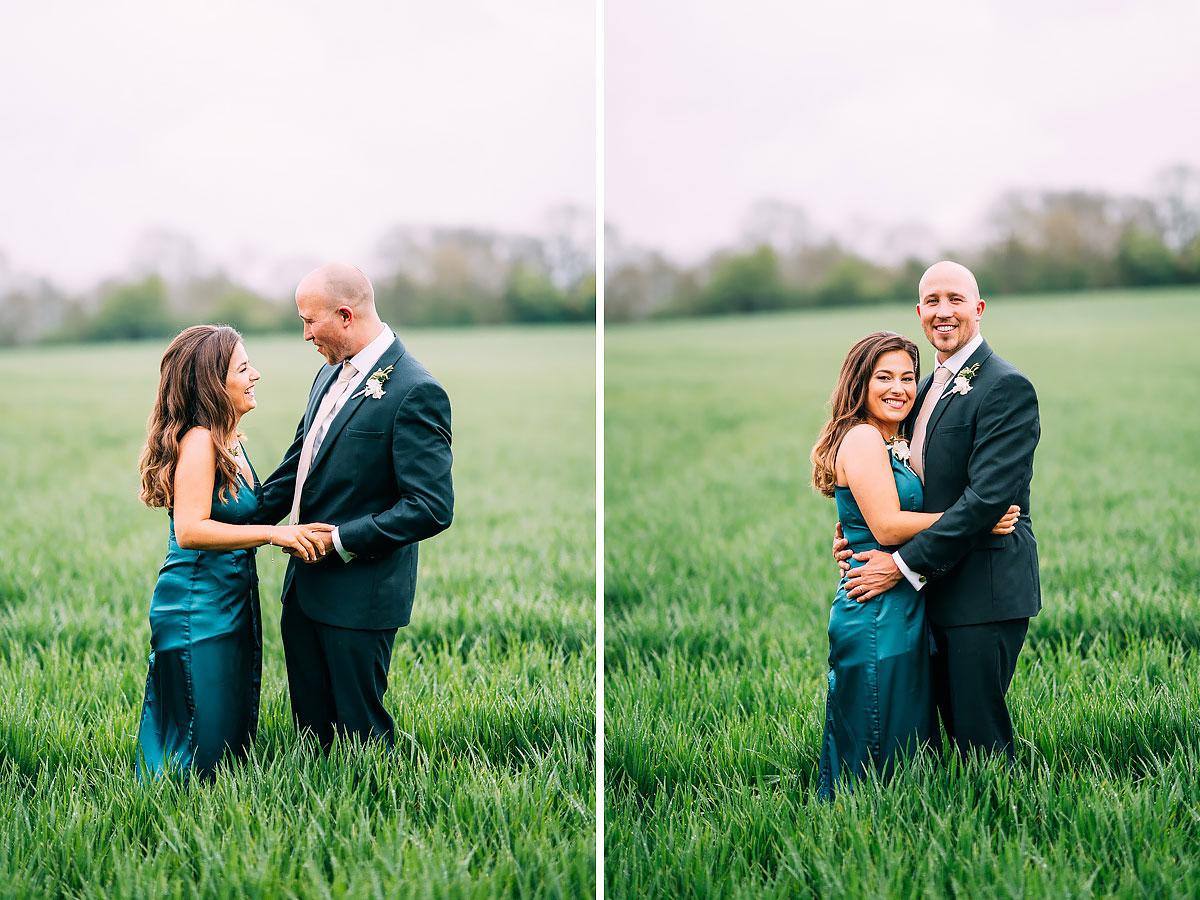 green wedding dress UK