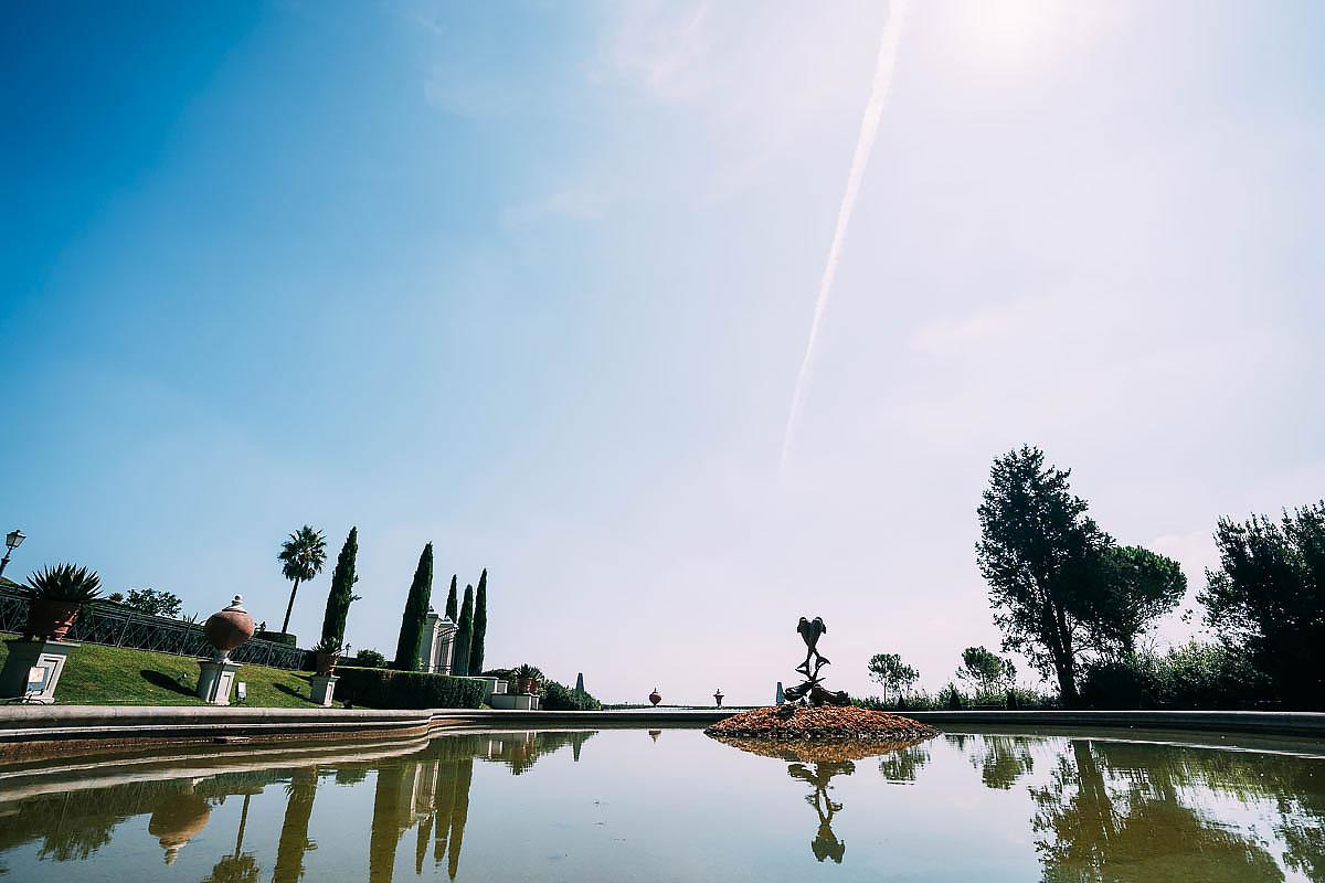 Villa Miani fountain
