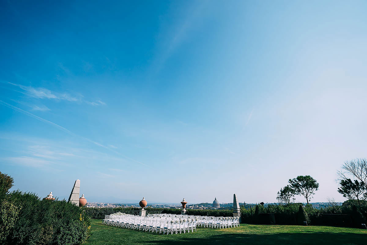 Villa Miani wedding venue