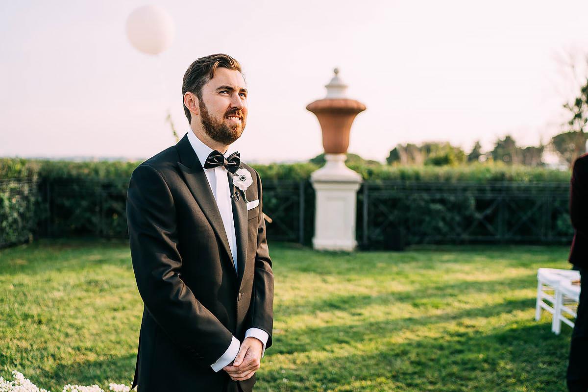 Villa Miani wedding photos