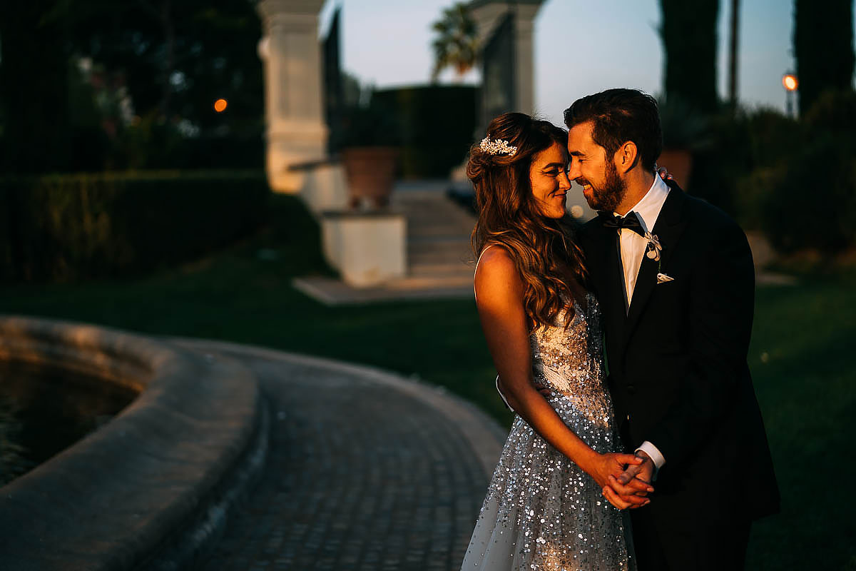 best Villa Miani wedding photography