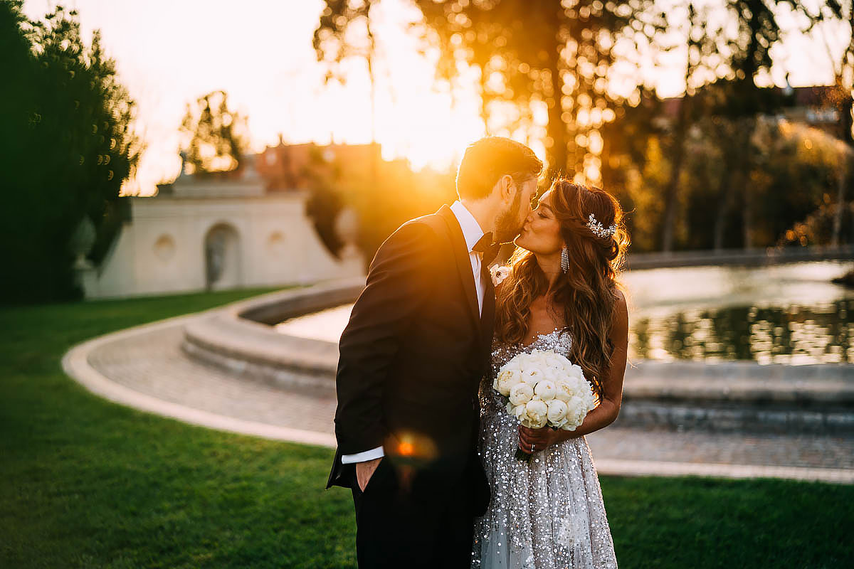 best Villa Miani wedding photographer