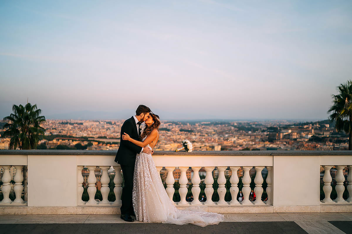 Villa Miani wedding photography