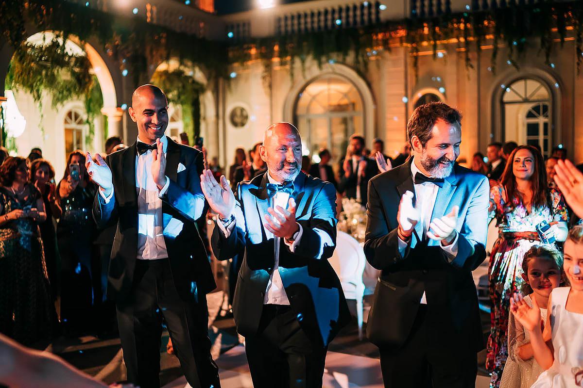 Villa Miani Wedding first dance