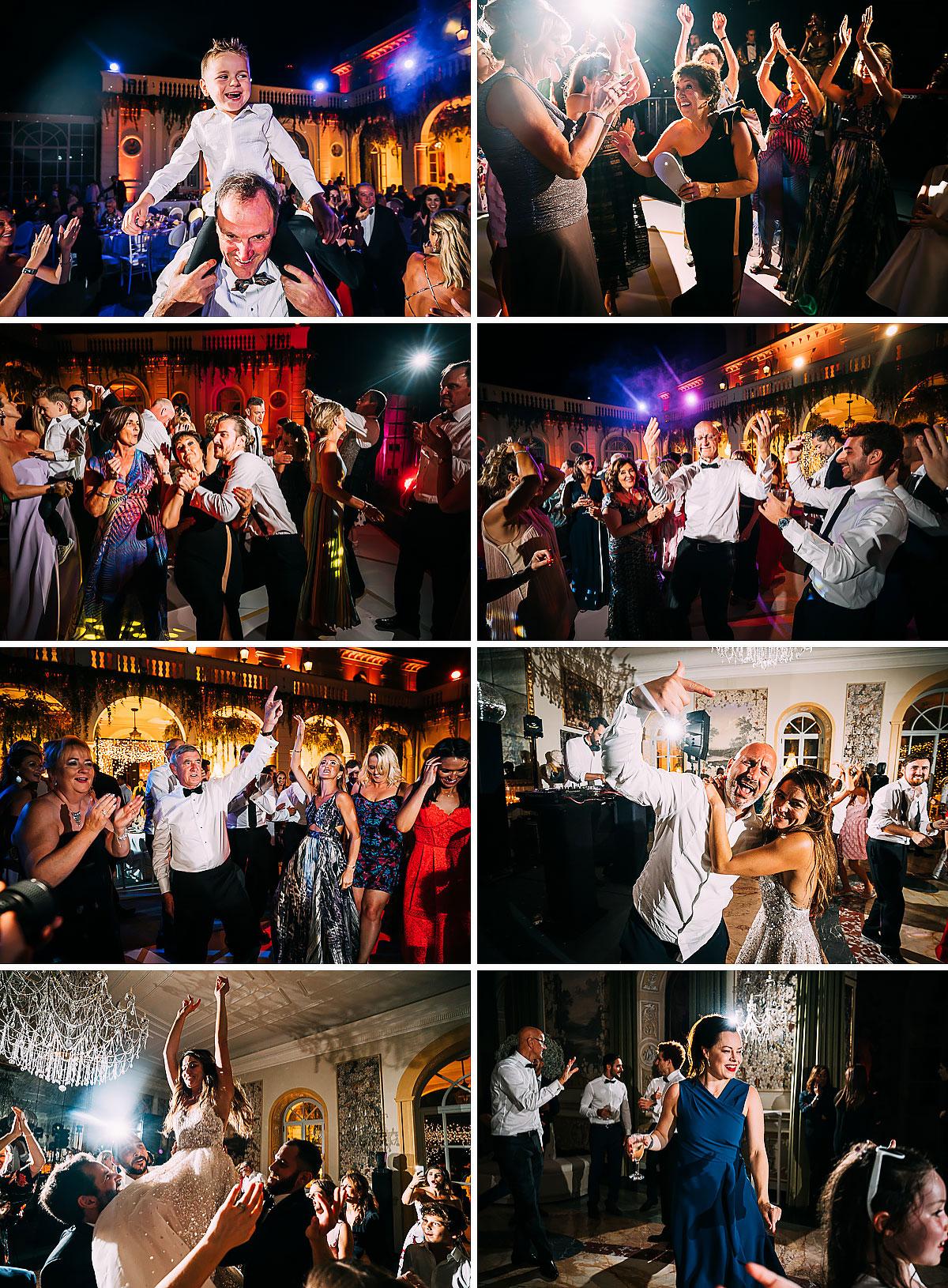 Villa Miani Wedding dancing