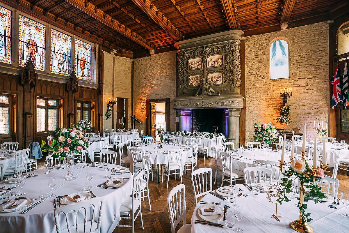 Chateau de Keriolet Wedding decorations