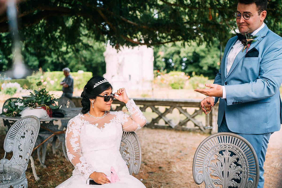documentary wedding photos France
