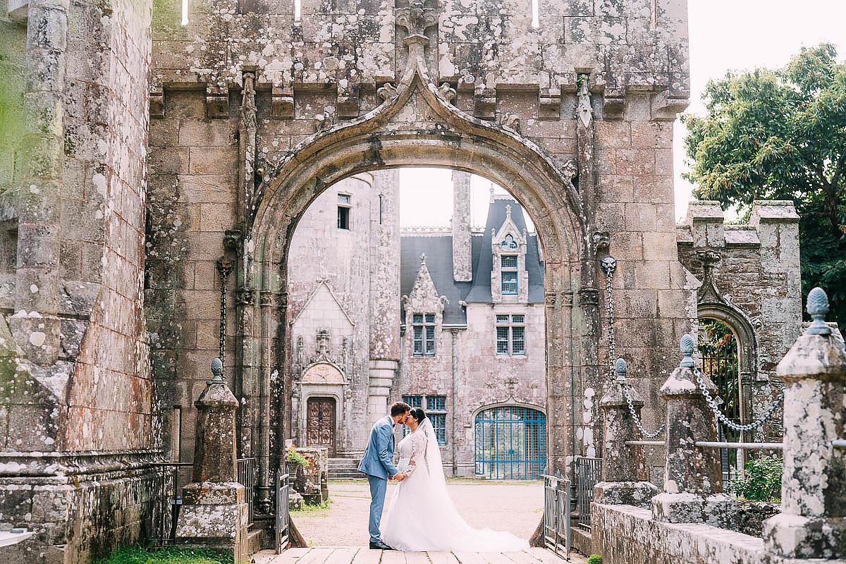 Chateau de Keriolet Wedding photos