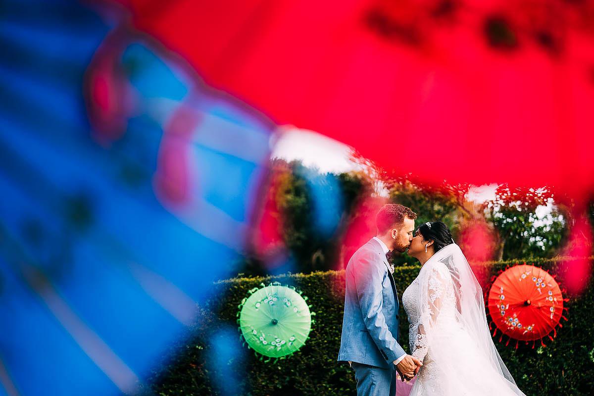 couple photos at Chateau de Keriolet Wedding