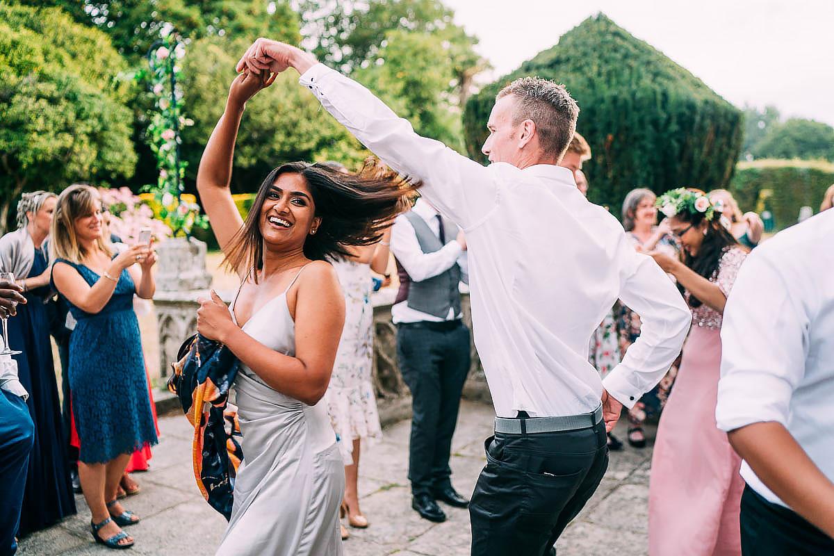 dancing at Chateau de Keriolet