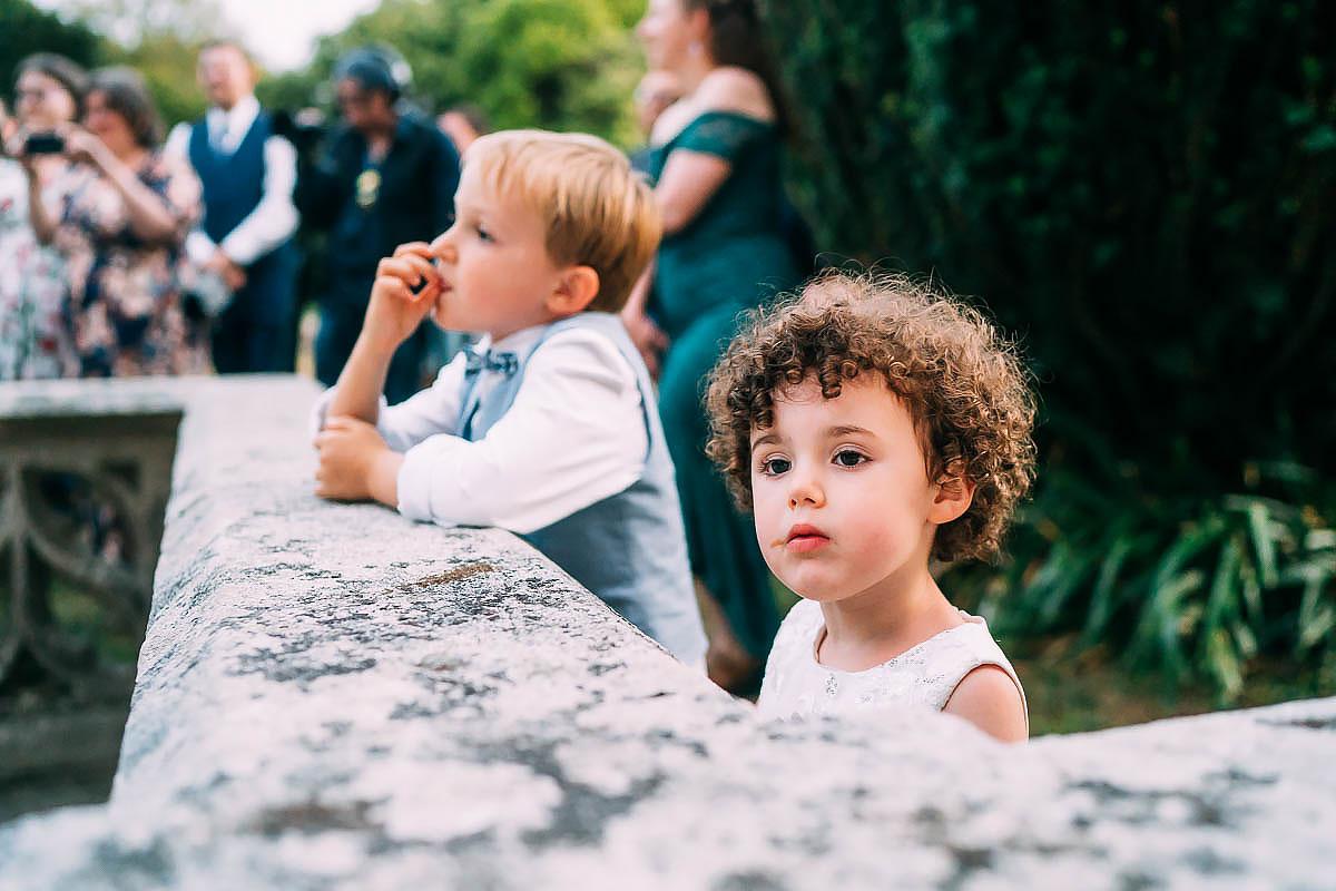 little child at wedding
