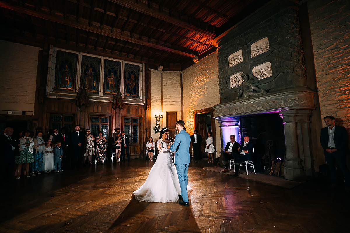 first dance at Chateau de Keriolet Wedding
