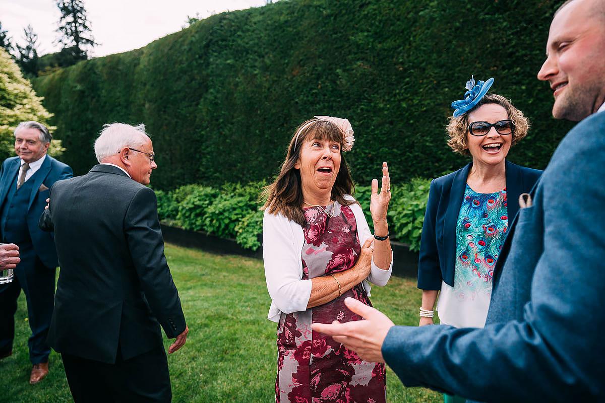 Gaynes park spring wedding